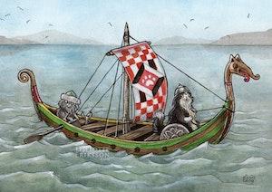 'Vikings' Print