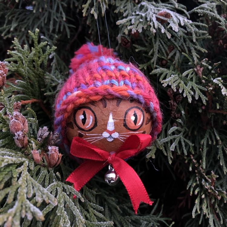 Ginger Kitty Ornament