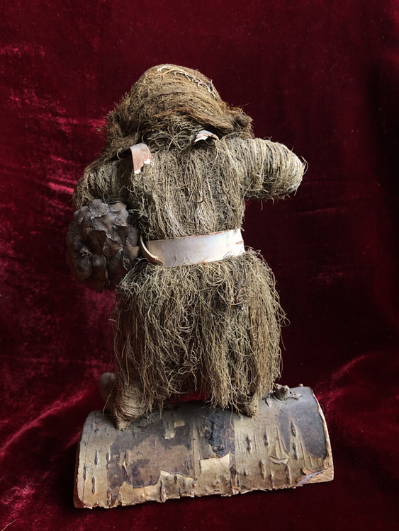 Unique Handmade Woodland Troll Lady