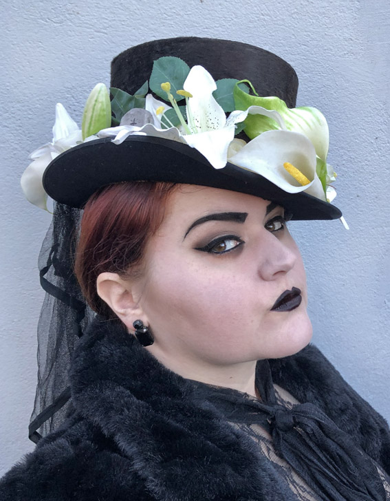 'Taphophilia' Top Hat