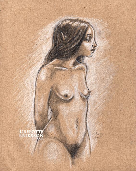 'Faerie' Original Drawing