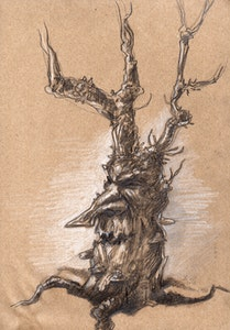 'Tree I' Original Drawing
