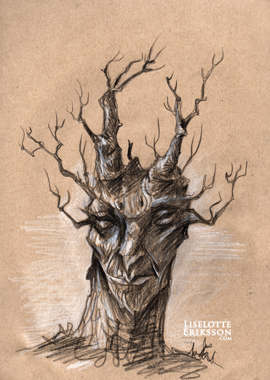 'Tree II' Original Drawing