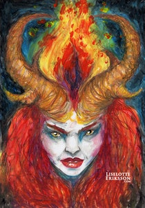 'Fire Goddess' Original Painting
