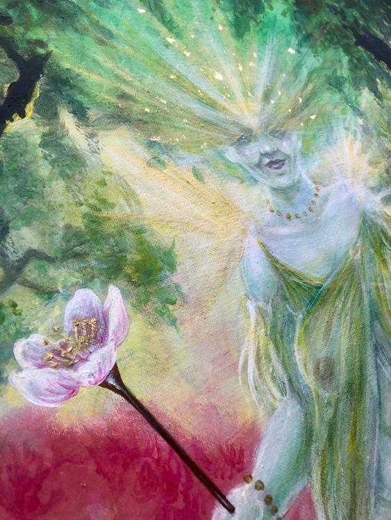 'Titania' original painting on canvas