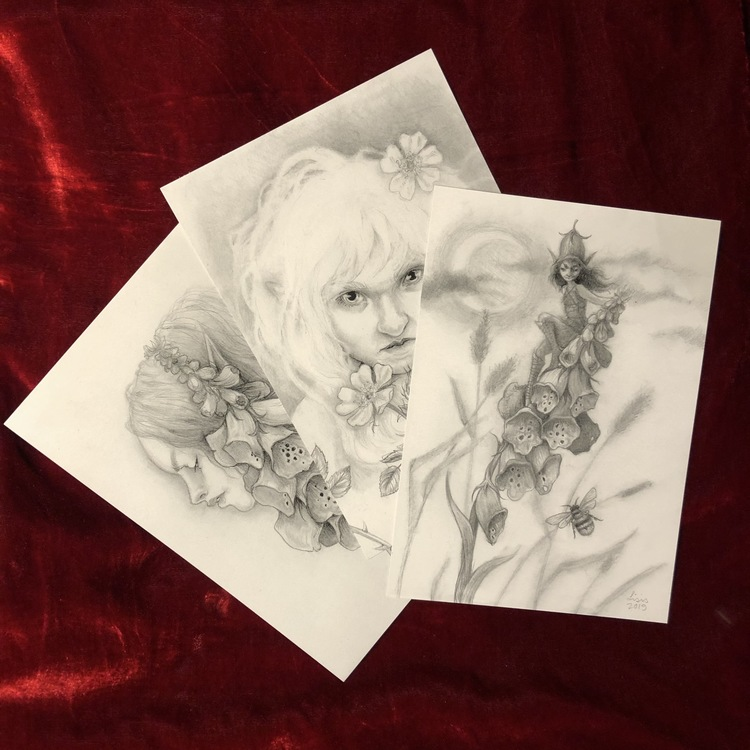 Flower Faeries Print Trio, Limited Edition
