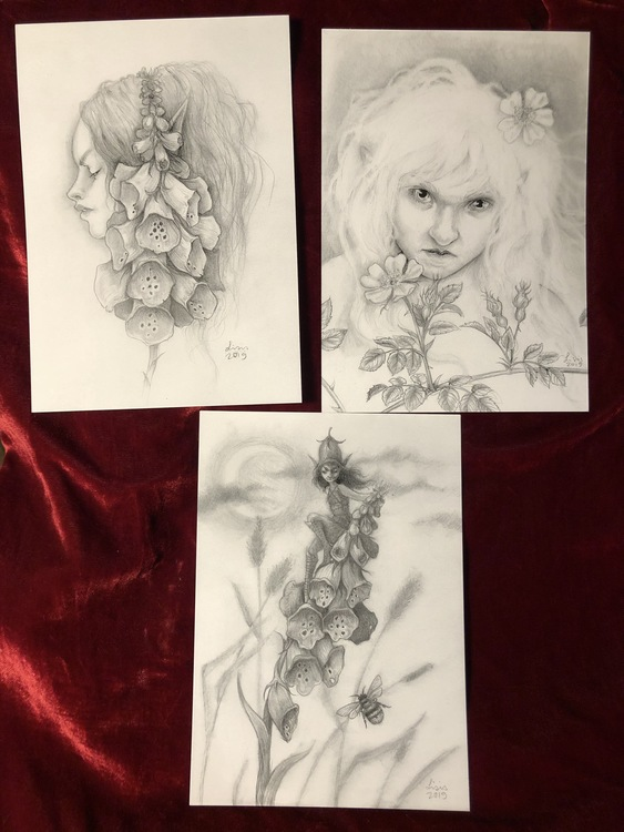 Flower Faeries Print Trio, Limited Edition