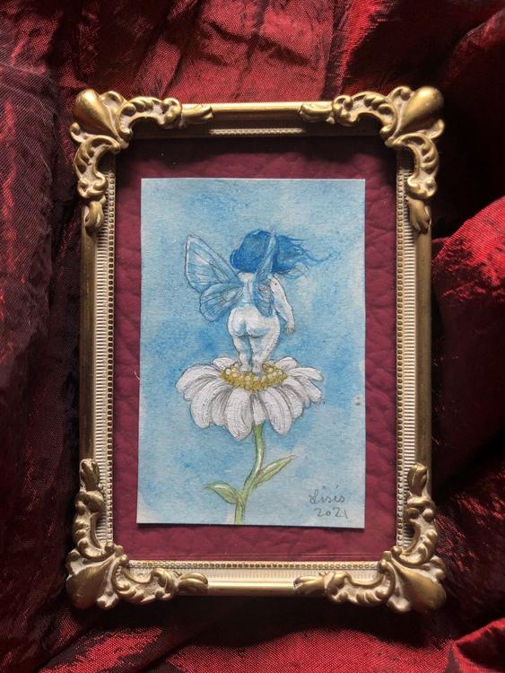 'Daisy' Original Framed Painting