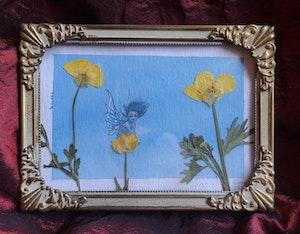 'Buttercups' Original Framed Painting