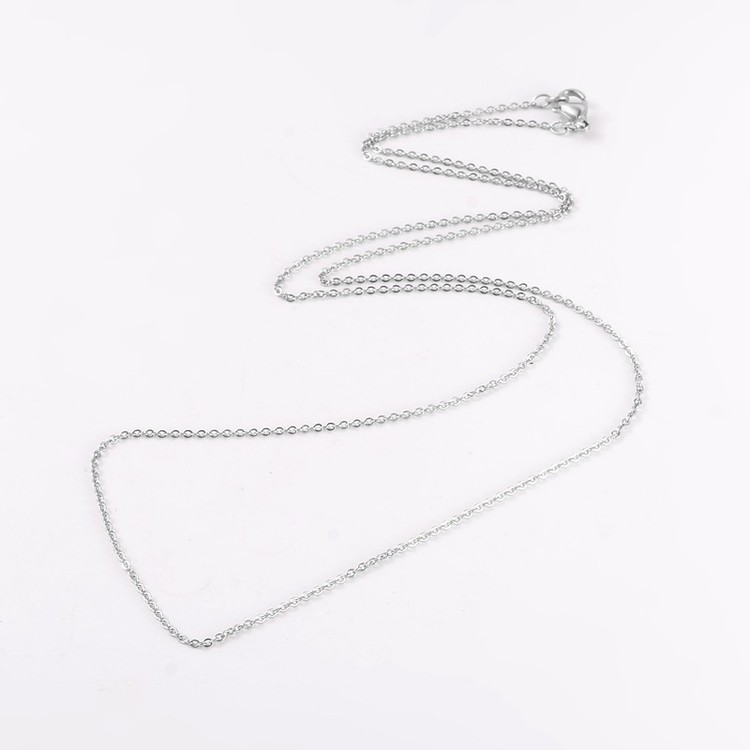 Hjärta Opalite ink halskedja