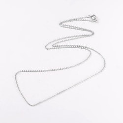 Stort Hjärta Opalite ink halskedja