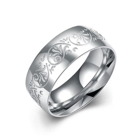 """"""" Flower """" Ring Titan"""