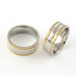 Bred ring, rostfritt stål 316 L