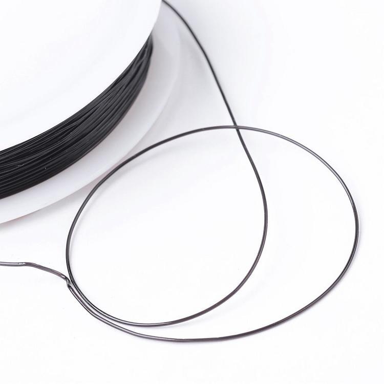 Elastisk tråd svart