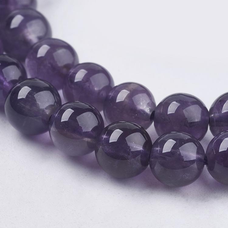 Pärlor Ametist 6mm