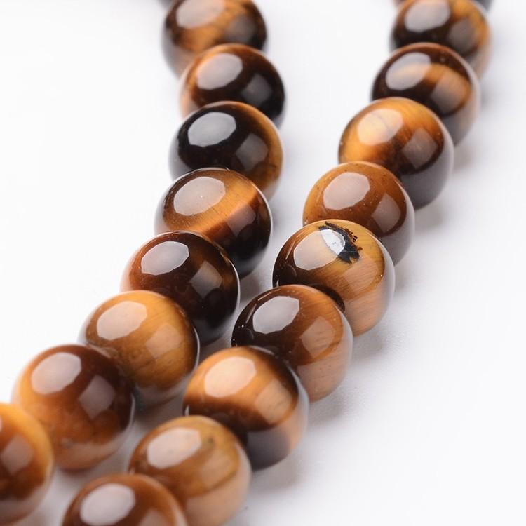 Pärlor Tigeröga 6mm