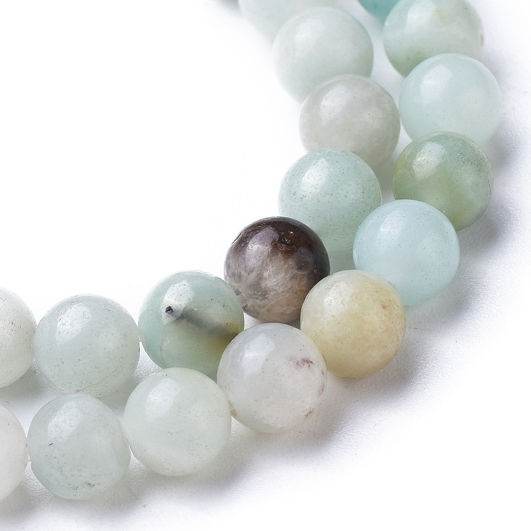 Pärlor Amazonit 6mm