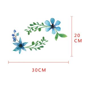 Vägg stickers Flower modell 1,  I LAGER MAJ
