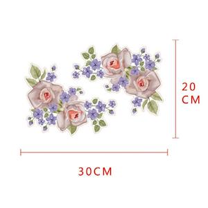 Vägg stickers Flower modell 2,  I LAGER MAJ