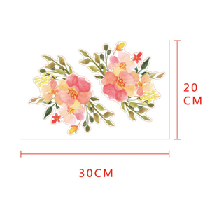 Vägg stickers Flower modell 3,  I LAGER MAJ