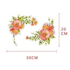 Vägg stickers Flower modell 4,  I LAGER MAJ