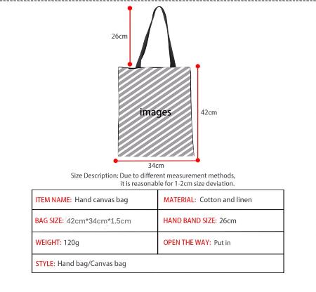 """Shoppingbag """" Calm """""""