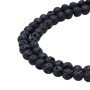 Pärlor Lava 6mm