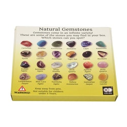 Samlarkit 20 olika stenar