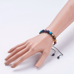 Justerbart Armband , chakra