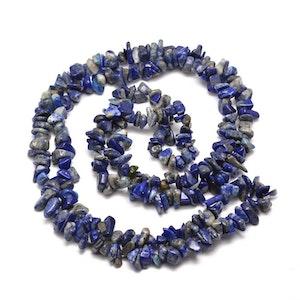 Chips Pärlor Lapis lazuli, I LAGER 10 JUNI