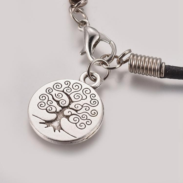 "Läder armband  "" Tree of life """