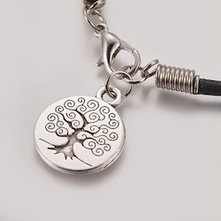 "Läder armband  "" Tree of life """