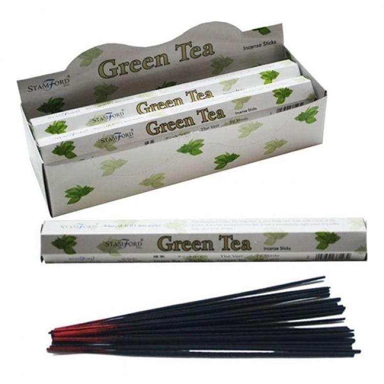 Aromaterapi Rökelse Stickor - Green Tea