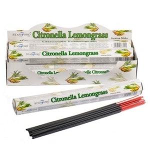 Aromaterapi Rökelse Stickor - Citronella & Lemongrass