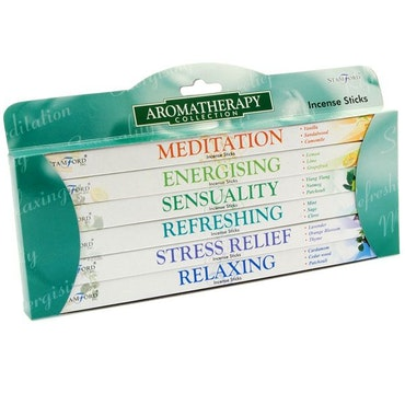 "Present Set "" Aromaterapi"" , Stamford Rökelse Stickor 6 Pack"