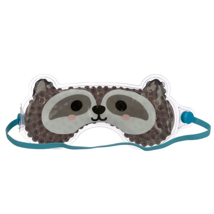 Gel Ögonmask Tvättbjörn/ Värme och kylande