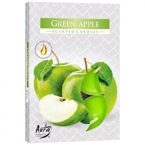 Värmeljus med doft 6-pack, Äpple