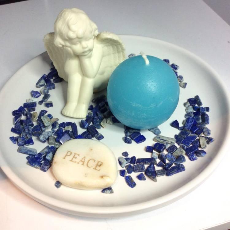 Dekorationsten Lapis lazuli 50 gram