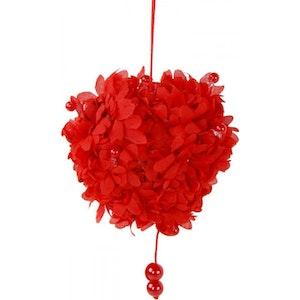 Hjärta Dekoration röd