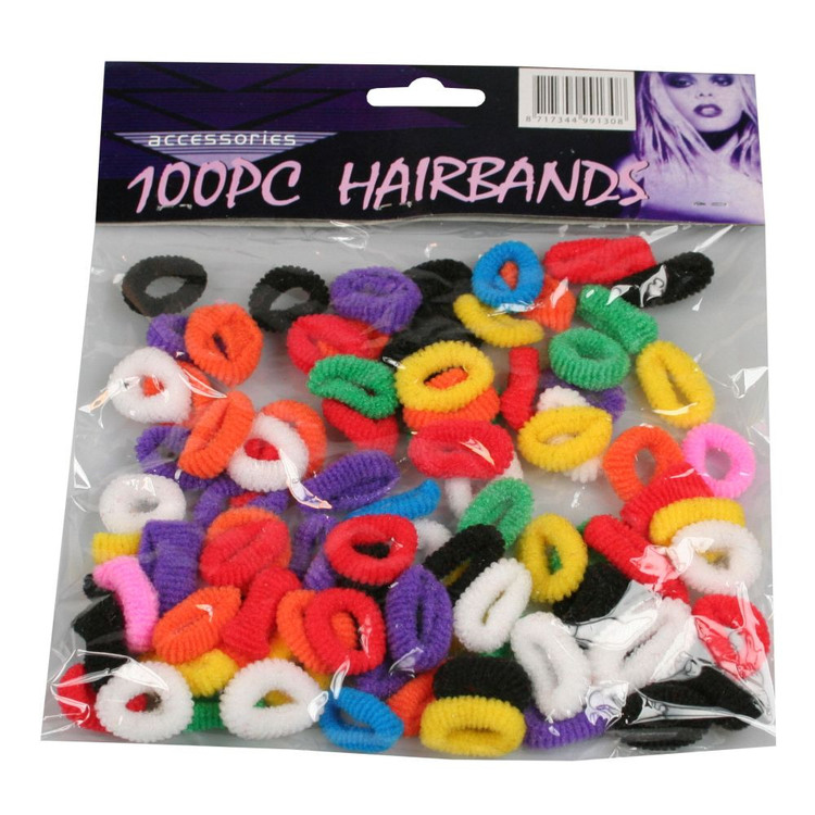 100 -pack hårsnoddar