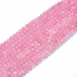Pärlor Rosenkvarts 8 mm