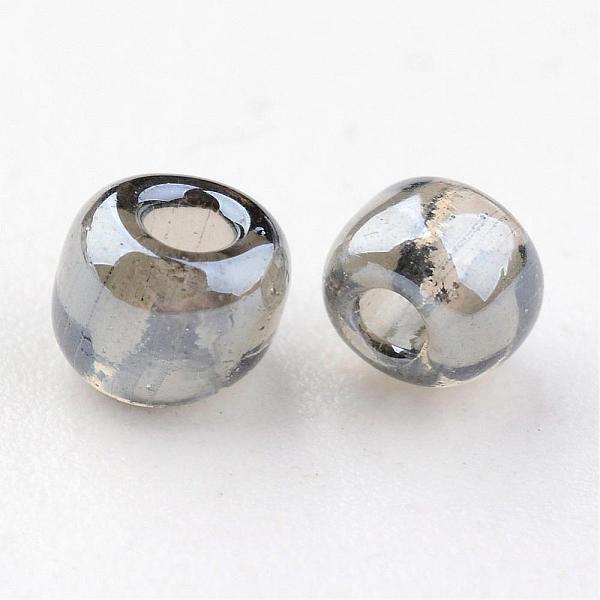 Seeds pärlor 4 mm, 50 gram, grå