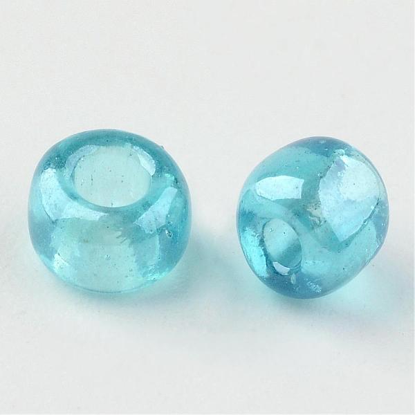 Seeds pärlor 4 mm, 50 gram, blå