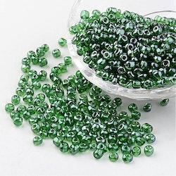 Seeds pärlor 4 mm, 50 gram, grön