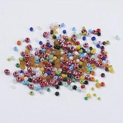 Seeds pärlor 2- 4,5 mm, 100 gram