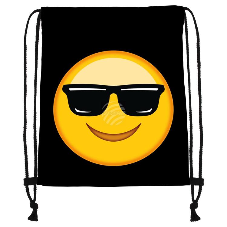 """Gym bag Emoticon """" cool """""""