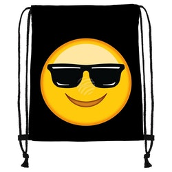 "Gym bag Emoticon "" cool """