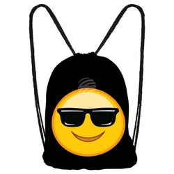 "Gym bag Emoticon "" cool "" , I LAGER JAN"