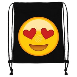 "Gym bag Emoticon "" love """