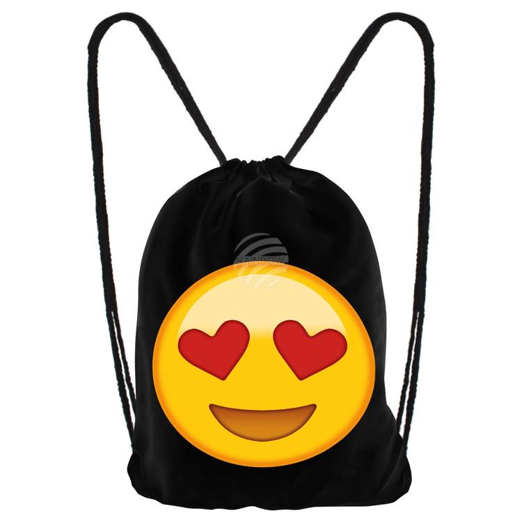 """Gym bag Emoticon """" love """""""